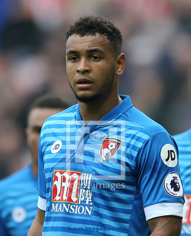 Joshua King of Bournemouth during the Premier League match at the Stadium Of Light, Sunderland<br /> Picture by Simon Moore/Focus Images Ltd 07807 671782<br /> 29/04/2017