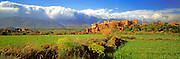MOROCCO, HIGH ATLAS MOUNTAINS Kasbah of Telouet, south of Marrakech