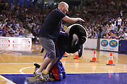 01//02/2014 NBL Adelaide 36ers vs Townsville Crocs at the Adelaide Arena