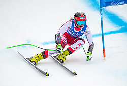 19.12.2018, Saslong, St. Christina, ITA, FIS Weltcup Ski Alpin, SuperG, Damen, im Bild Ricarda Haaser (AUT) // Ricarda Haaser of Austria in action during her run in the ladie's Super-G of FIS ski alpine world cup at the Saslong in St. Christina, Italy on 2018/12/19. EXPA Pictures © 2018, PhotoCredit: EXPA/ Johann Groder