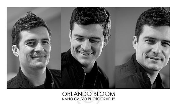 Orlando Bloom<br /> Nano Calvo Photography