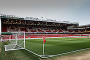 Stadium shot during the Sky Bet Championship match between Nottingham Forest and Brighton and Hove Albion at the City Ground, Nottingham, England on 11 April 2016. Photo by Simon Davies.