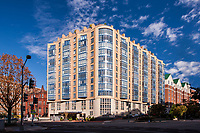 Exterior image of Post Massachusetts Ave apartments in Washington DC by Jeffrey Sauers of Commercial Photographics