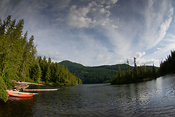 Waugh Lake, Sunshine Coast, British Columbia, Canada