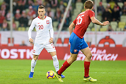 November 15, 2018 - Gdansk, Poland, PIOTR ZIELINSKI from Poland during football friendly match between Poland - Czech Republic at the Stadion Energa in Gdansk, Poland