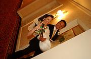 Beata and Frank's wedding.  Catholic wedding ceremony at Saint Andrew's Catholic church, in Pasadena, California.  Formal wedding  photographs at The Ritz Carlton Hotel also in Pasadena, Southern California.<br /> <br /> Photos Copyrighted by German Silva - http://gsilvaphotography.com