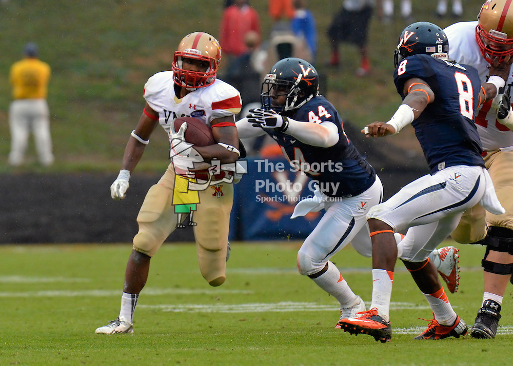 NCAA FBS: Virginia Cavaliers roll past VMI, 49-0