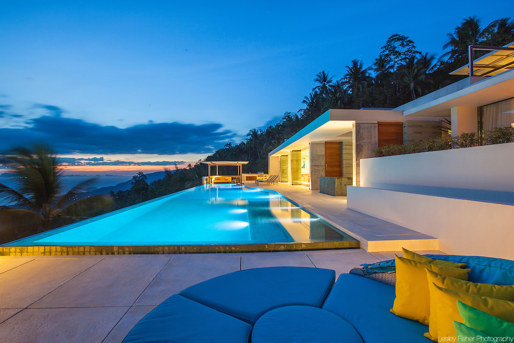 at Lime, luxury private, ocean view villas, Koh Samui, Surat Thani, Thailand