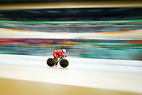 Jufang Zhou of China competes in the Women's C4-5 500m Time Trial final on day 3 of the Rio 2016 Paralympic Games at Rio Olympic Velodrome on September 10, 2016 in Rio de Janeiro, Brazil.