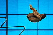 Tom Daley of Great Britain during the Men's Individual 10m dive during the FINA/CNSG Diving World Series 2019 at London Aquatics Centre, London, United Kingdom on 19 May 2019.