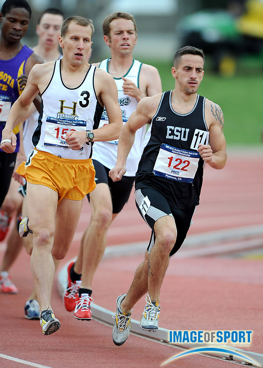 May 24, 2008; Walnut, CA, USA;  Iuri Pinto of East Stroudsburg (122) and Artur Kern of Harding lead the 1,500m in the NCAA Division II Track & Field Championships at Mt. San Antonio College's Hilmer Lodge Stadium.  Pinto was fourth in 3:51.05 and Kern placed 12th in 3:59.01.