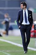 Udine, 06 gennaio 2015<br /> Serie A 2014/2015. 17^ giornata.<br /> Stadio Friuli.<br /> Udinese vs Roma<br /> Nella foto: l'allenatore dell'Udinese Andrea Stramaccioni.<br /> © foto di Simone Ferraro