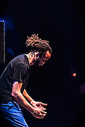 Savion Glover working his magic during a performance at the SOPAC 10th Anniversary Gala.