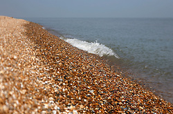 UK ENGLAND DUNGENESS 24MAR12 - General view of Dungeness shingle beach on the Kent coast. It is the  largest area of open shingle in Europe, measuring 12 km by 6 km, which has been deposited by the sea and built up over thousands of years.....jre/Photo by Jiri Rezac....© Jiri Rezac 2012
