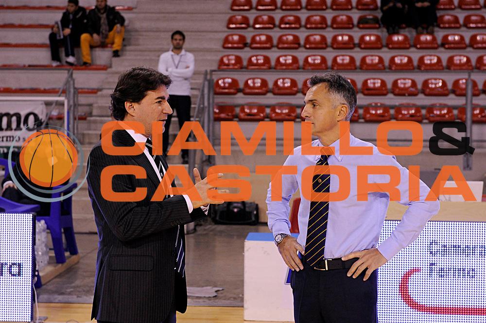 DESCRIZIONE : Ancona Lega A 2011-12 Fabi Shoes Montegranaro Canadian Solar Bologna<br /> GIOCATORE : Alessandro Finelli Giorgio Valli<br /> CATEGORIA : coach ritratto<br /> SQUADRA : Canadian Solar Bologna<br /> EVENTO : Campionato Lega A 2011-2012<br /> GARA : Fabi Shoes Montegranaro Canadian Solar Bologna<br /> DATA : 20/11/2011<br /> SPORT : Pallacanestro<br /> AUTORE : Agenzia Ciamillo-Castoria/C.De Massis<br /> Galleria : Lega Basket A 2011-2012<br /> Fotonotizia : Ancona Lega A 2011-12 Fabi Shoes Montegranaro Canadian Solar Bologna<br /> Predefinita :