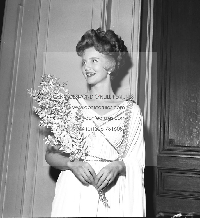 LADY GLENCONNER wife of Lord Colin Glenconner photographed in November 1957.