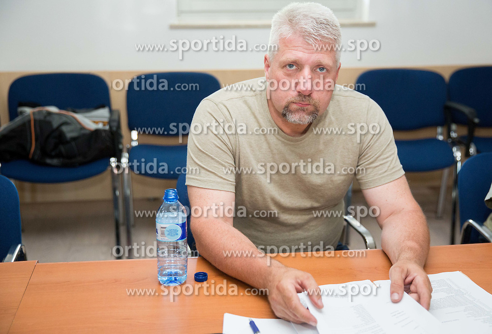 Tomaz Pogacar during meeting of Executive Committee of Ski Association of Slovenia (SZS) on June 9, 2014 in SZS, Ljubljana, Slovenia. Photo by Vid Ponikvar / Sportida