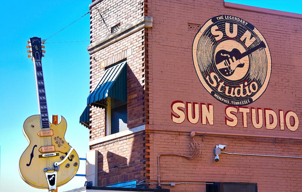 Memphis, Tennessee, Sun Studios, Recording Studio of Elvis Presley
