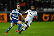 Swansea City midfielder Aldo Kalulu (18) during the EFL Sky Bet Championship match between Swansea City and Queens Park Rangers at the Liberty Stadium, Swansea, Wales on 11 February 2020.