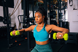 Amazon has launched a 'New Year, New You' storefront featuring health and fitness products curated by Serena Williams, Rob Gronkowski and Gabrielle Union. The trio of celeb's essentials range from various workout equipment, supplements, apparel, tech and more, which can all be purchased through Amazon. Tennis ace Williams, 38, selected some of her active lifestyle essentials such as a Wilson Prime tennis racket, Upright GO 2 posture trainer, Neutrogena makeup remover, Omega-3+ Vitamins, Trail Mix, among other various products. Former New England Patriot's tight end Gronkowski, 30, opted for a Jacob's Ladder Gronk Editio step machine, Gronk Fitness workout ropes, Gronk Fitness stretch machine, and post-workout Gronk Fitness Biodegradable body wipes among his product list. Actress Union, 47, picks included an AmazonBasic Yoga mat for meditation, AmazonBasics Dumbbell Weights for strengthening, AmazonBasics High-Density Foam Roller for stretching and Powerbeats Pro - Totally Wireless Earphones to power through her workouts. The Amazon New Year, New You storefront is being billed as a one-stop-shop for all sporting goods and fitness equipment to help achieve 'all of your resolutions this New Year'. A spokesman for Amazon added: 'No matter your sports passion or fitness level, Amazon Sports offers the best selection of top brands and products for you to find what you need.'. 03 Jan 2020 Pictured: Serena Williams, Rob Gronkowski and Gabrielle Union have teamed up with Amazon Sports to present a New Year, New You storefront featuring curated health and fitness products. Photo credit: Amazon Sports/ MEGA TheMegaAgency.com +1 888 505 6342