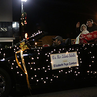 Elizabeth Faye Cumbee participates in the 12th Annual Wilmington Holiday Parade Sunday December 7, 2014 in Wilmington, N.C. (Jason A. Frizzelle)