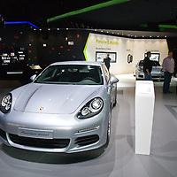 Porsche Panamera Diesel at the IAA 2013, Frankfurt, Germany
