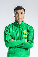 **EXCLUSIVE**Portrait of Chinese soccer player Yu Dabao of Beijing Sinobo Guoan F.C. for the 2018 Chinese Football Association Super League, in Shanghai, China, 22 February 2018.