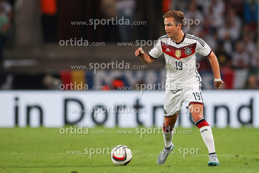 10.06.2015, RheinEnergie Stadion, Koeln, GER, FS Vorbereitung, Testspiel, Deutschland vs USA, im Bild Marion Goetze (FC Bayern Muenchen) // during the international friendly football match between Germany and USA at the RheinEnergie Stadion in Koeln, Germany on 2015/06/10. EXPA Pictures &copy; 2015, PhotoCredit: EXPA/ Eibner-Pressefoto/ Schueler - Pressefoto<br /> <br /> *****ATTENTION - OUT of GER*****