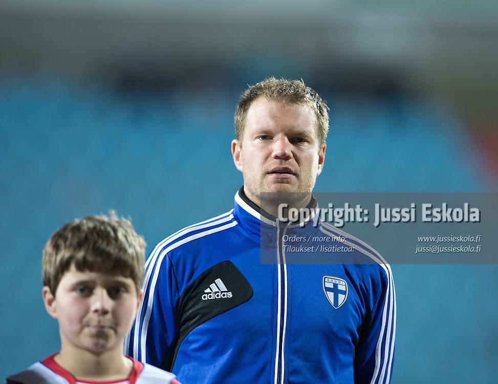 Teemu Tainio. Luxemburg - Suomi. A-maaottelu. Luxemburg 26.3.2013. Photo: Jussi Eskola