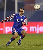 Fussball International, Nationalmannschaft   EURO 2012 Play Off, Qualifikation, Kroatien - Tuerkei       15.11.2011 Gordon Schildenfeld (Kroatien)