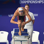 Jordan Pothain (FRA) competes on Men's 200 m Freestyle during the Swimming European Championships Glasgow 2018, at Tollcross International Swimming Centre, in Glasgow, Great Britain, Day 5, on August 6, 2018 - Photo Stephane Kempinaire / KMSP / ProSportsImages / DPPI