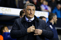 Blackburn Rovers manager Tony Mowbray - Mandatory by-line: Jason Brown/JMP - 04/04/2017 - FOOTBALL - Madejski Stadium - Reading, England - Reading v Blackburn Rovers - Sky Bet Championship