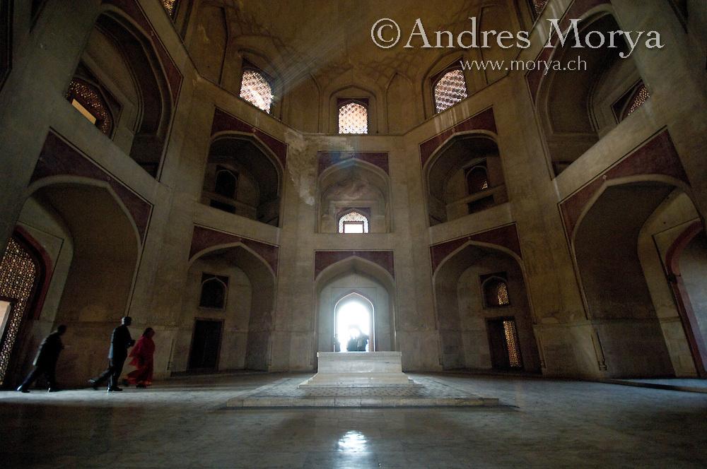 16th Century Great Mughal Emperor Humayuns Tomb , New Delhi , India Image by Andres Morya