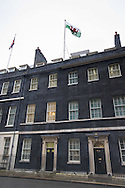 Downing Street, London, February 11th 2016. The Welsh flag flies over Downing Street on St David's Day. <br /> Picture by Paul Davey/Focus Images Ltd +447966 016296<br /> 01/03/2016
