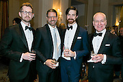 Fashion icon Tim Gunn with friends at the HRC's Greater NY Gala 2014 held at the Waldorf=Astoria in New York City on Saturday, February 8, 2014. (Photo: JeffreyHolmes.com)