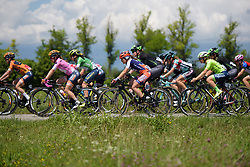 Beatrice Rossato in the bunch on Stage 2 of the Giro Rosa - a 122.2 km road race, between Zoppola and Montereale Valcellina on July 1, 2017, in Pordenone, Italy. (Photo by Sean Robinson/Velofocus.com)