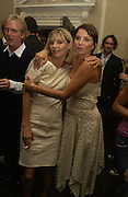 Jemima French, Franc Roddam and Sadie Frost. Franc Roddam and Frost French host a party to celebrate the publication of ' Margarita's Olive Press' by Rodney Shileds. 1 Greek St. Soho Sq. London. 15 September 2005.  ONE TIME USE ONLY - DO NOT ARCHIVE  © Copyright Photograph by Dafydd Jones 66 Stockwell Park Rd. London SW9 0DA Tel 020 7733 0108 www.dafjones.com