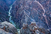 Black Canyon of the Gunnison National Park, Painted Wall