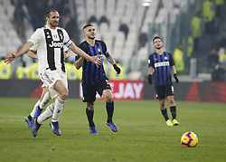December 7, 2018 - Turin, Italy - Mauro Icardi during Serie A match between Juventus v Inter, in Turin, on December 7, 2018  (Credit Image: © Loris Roselli/NurPhoto via ZUMA Press)