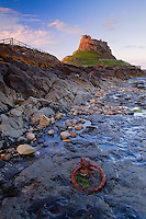 The Northumberland coastline is littered with many impressive castles protecting its shores, Lindisfarne is a fine example.