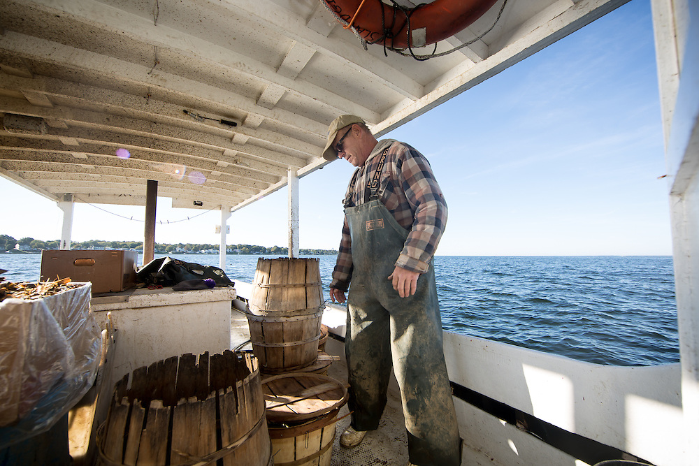 Captain Richard checks out the catch | October 11, 2015