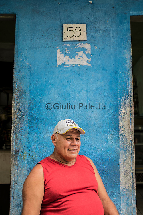 Zé Mulher, 60 years old. He belongs to the first generation of surfers of Rocinha. He stills remembers when he was a kid at São Conrado, there were two drive-in cinemas on the beach. He would love to have more cultural activities at Rocinha for young people to enjoy