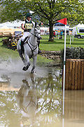 Sam Watson (IRL) on Imperial Sky during the International Horse Trials at Chatsworth, Bakewell, United Kingdom on 13 May 2018. Picture by George Franks.