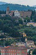 The varied sights of the historic city of Florence in Tuscany, Italy - June 2017