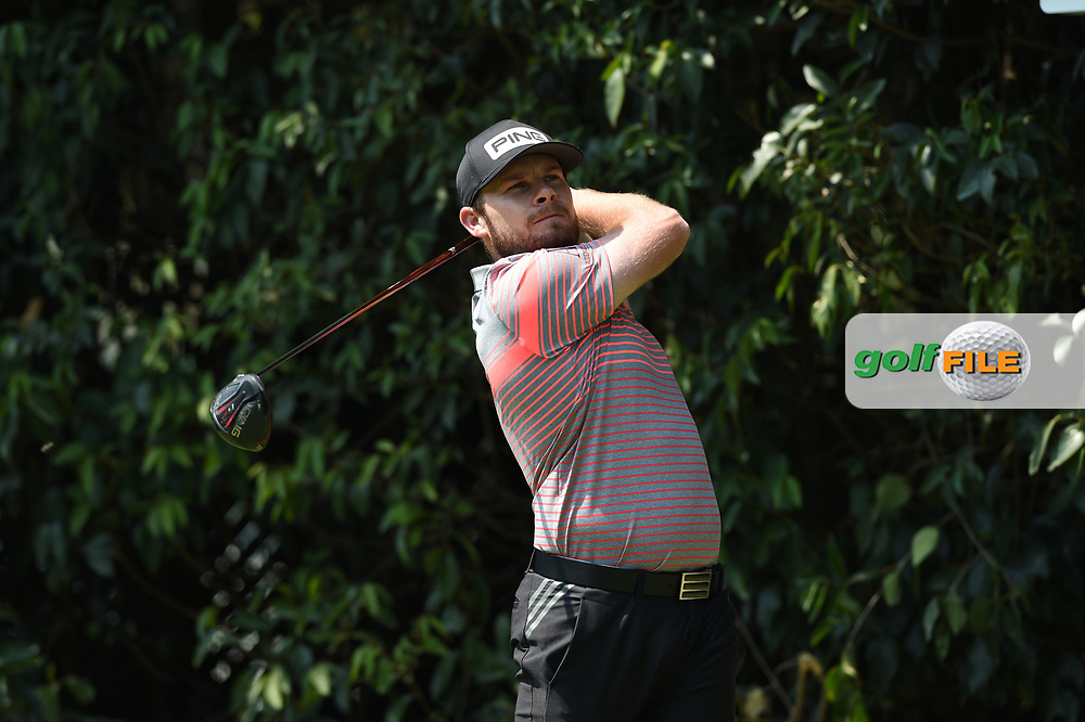 Tyrrell Hatton (ENG) on the 2nd tee during Rd4 of the World Golf Championships, Mexico, Club De Golf Chapultepec, Mexico City, Mexico. 2/23/2020.<br /> Picture: Golffile | Ken Murray<br /> <br /> <br /> All photo usage must carry mandatory copyright credit (© Golffile | Ken Murray)