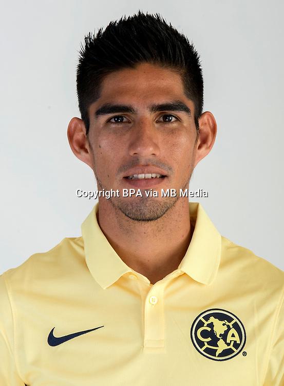 Mexico League - BBVA Bancomer MX 2014-2015 -<br /> Aguilas - Club de Futbol America / Mexico - <br /> Jose Antonio Maduena Lopez