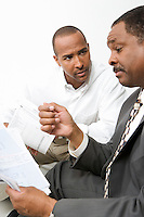 Man Talking with Accountant