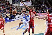DESCRIZIONE : Campionato 2014/15 Dinamo Banco di Sardegna Sassari - Giorgio Tesi Group Pistoia<br /> GIOCATORE : David Logan<br /> CATEGORIA : Tiro Penetrazione Sottomano<br /> SQUADRA : Dinamo Banco di Sardegna Sassari<br /> EVENTO : LegaBasket Serie A Beko 2014/2015<br /> GARA : Dinamo Banco di Sardegna Sassari - Giorgio Tesi Group Pistoia<br /> DATA : 01/02/2015<br /> SPORT : Pallacanestro <br /> AUTORE : Agenzia Ciamillo-Castoria / Luigi Canu<br /> Galleria : LegaBasket Serie A Beko 2014/2015<br /> Fotonotizia : Campionato 2014/15 Dinamo Banco di Sardegna Sassari - Giorgio Tesi Group Pistoia<br /> Predefinita :