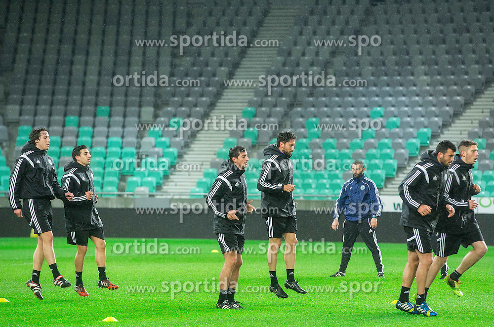 Practice session of San Marino National Football Team 1 day before EURO 2016 Qualifying match against Slovenia, on March 26, 2015 in SRC Stozice, Ljubljana, Slovenia. Photo by Vid Ponikvar / Sportida