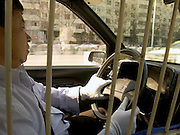 taxi driver in Beijing China